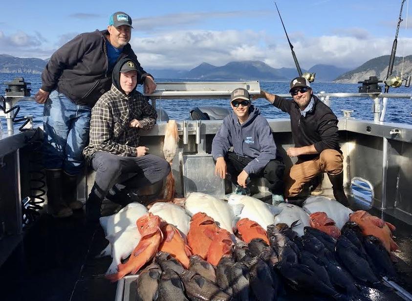 Rockfish/Halibut Catch